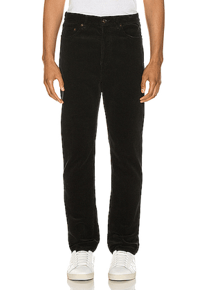 Saint Laurent Corduroy Jean in Black - Black. Size 29 (also in 30,31,32,33,34).