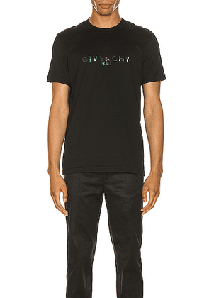 Givenchy Short Sleeve Tee in Black - Black. Size S (also in M,L,XL).
