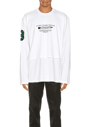 Givenchy Long Sleeve Tee in White - White. Size S (also in M,L,XL).