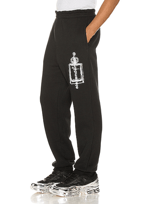 Alexander Wang Graphic Sweatpant in Black - Black. Size S (also in L,M,XL).
