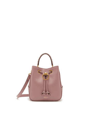 Mulberry Small Hampstead in Mocha Rose Small Classic Grain and Ayers