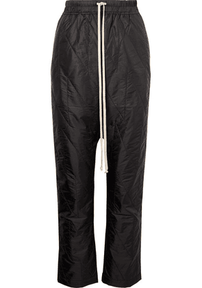 Rick Owens - Quilted Shell Pants - Black