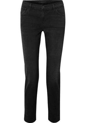 J Brand - Johnny Boyfriend Jeans - Black