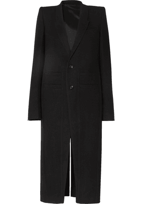 Rick Owens - Cappotto Wool Coat - Black