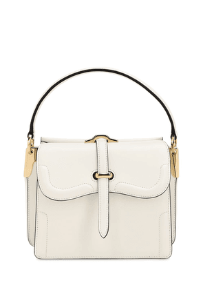 Belle City Leather Top Handle Bag