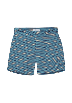 Navy and Faded Denim Ipanema Tailored Shorts