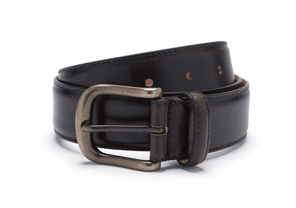 Brown Nappa Leather Belt