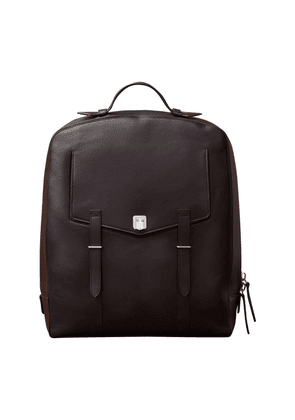 Cacao Buffalo Leather Rider Backpack