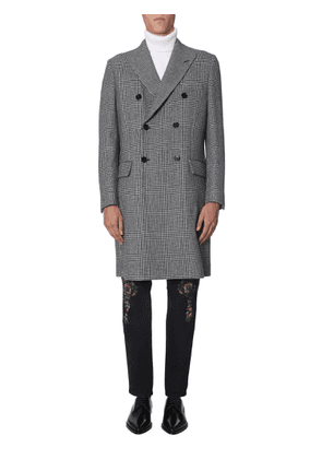 dolce & gabbana prince of wales coat