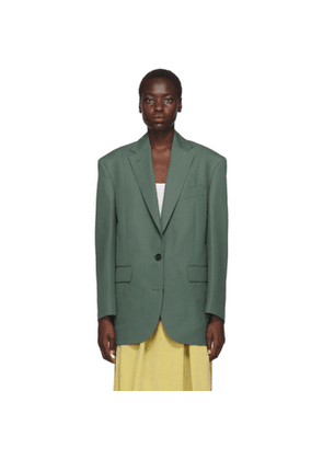 Acne Studios Green Jilly Suiting Jacket