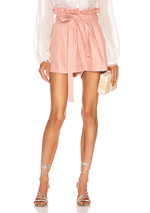 Alexis Jolan Shorts in Blush - Pink. Size XS (also in M,S).