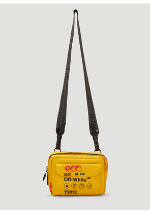 Off-White Industrial Travel Crossbody Bag in Yellow size One Size