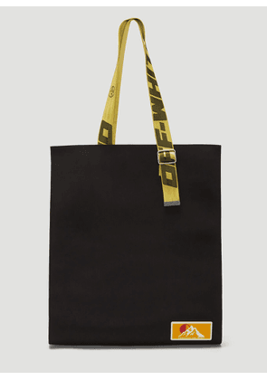 Off-White Puffy Origami Tote Bag in Black size One Size
