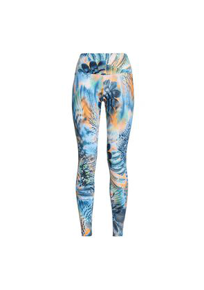 Bodyism Printed Stretch Leggings Woman Multicolor Size M