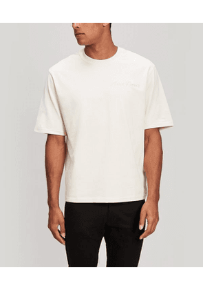Oversized Embroidered Logo T-Shirt