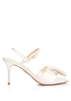 Charlotte Olympia Sandals Women - PATRICE IVORY Satin 36