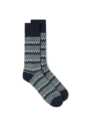 Anonymous Ism Zig Zag Links Crew Sock