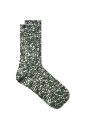 Anonymous Ism Slub Crew Sock