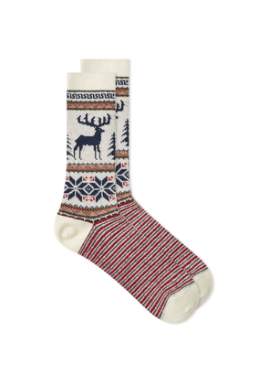 Anonymous Ism Wool Deer Crew Sock
