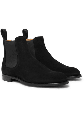Cheaney - Godfrey Suede Chelsea Boots - Black