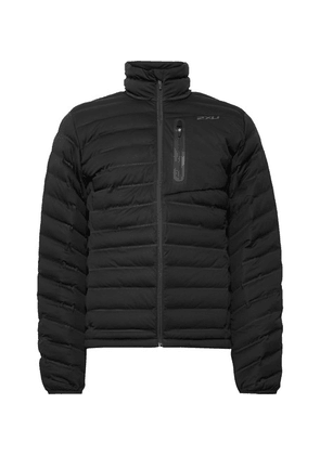 2XU - Pursuit Slim-fit Quilted Shell Jacket - Black