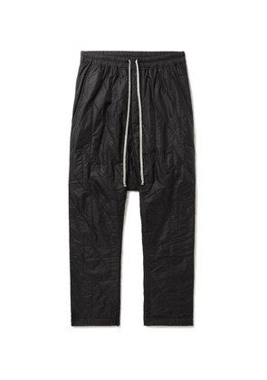 Rick Owens - Quilted Nylon Drawstring Sweatpants - Black