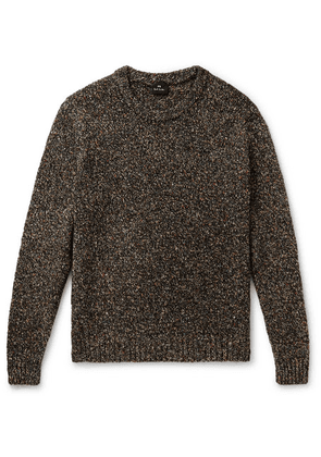 PS Paul Smith - Mélange Knitted Sweater - Black