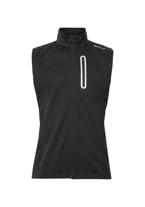 2XU - Wind Defence Membrane Waterproof Stretch-jersey Gilet - Black
