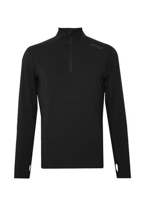 2XU - Slim-fit Bio-heat X Half-zip Top - Black