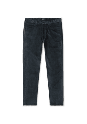 PS Paul Smith - Cotton-blend Corduroy Trousers - Teal