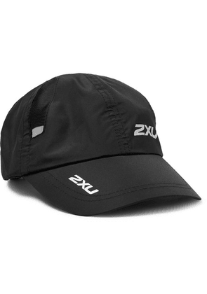 2XU - Logo-print Nylon And Mesh Running Cap - Black