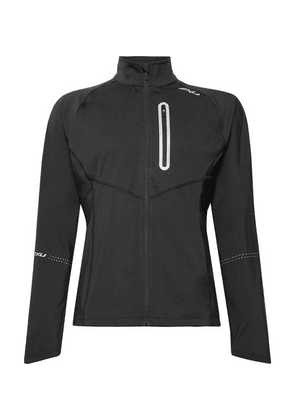 2XU - Pursuit Slim-fit Thermal Hybrid Stretch-jersey Jacket - Black