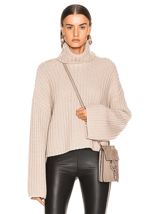 SABLYN Sunny Sweater in Taupe - Neutral. Size S (also in M).