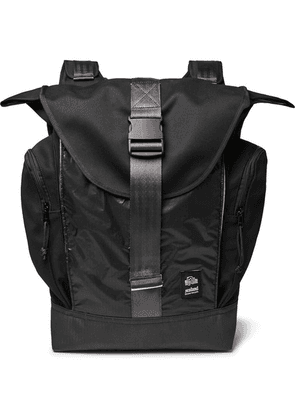 Sealand Gear - Roamer Canvas And Ripstop Backpack - Black