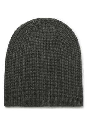 Alex Mill - Ribbed Cashmere Beanie - Army green