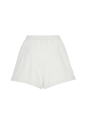 Terry High-Rise Terry Shorts