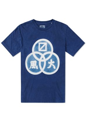 Blue Blue Japan Three Ring Crest Tee
