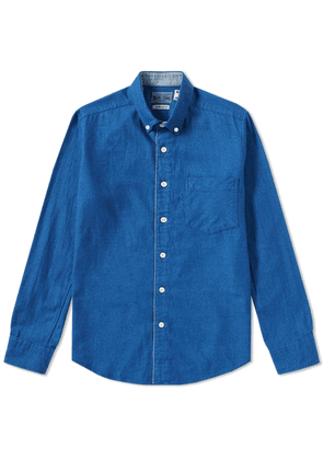 Blue Blue Japan Flannel Shirt