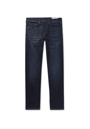 rag & bone - Fit 1 Skinny-fit Stretch-denim Jeans - Dark denim