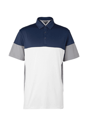 Adidas Golf - Adipure Stretch Tech-jersey Polo Shirt - Navy
