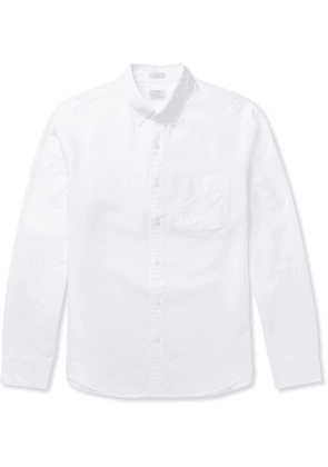 J.Crew - Slim-fit Button-down Collar Cotton Oxford Shirt - White