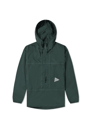 And Wander Pertex Wind Popover Jacket