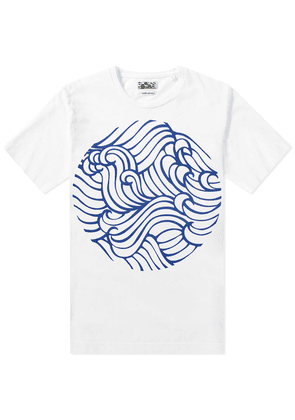 Blue Blue Japan Wave Pattern Tee