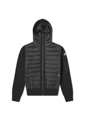 Moncler Knit Hooded Down Jacket
