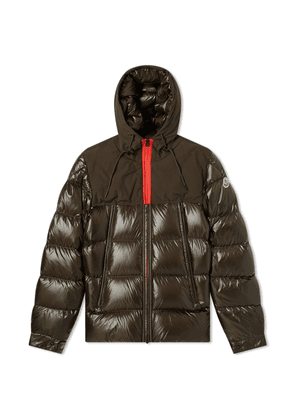 Moncler Eymeric Zip Hooded Down Jacket