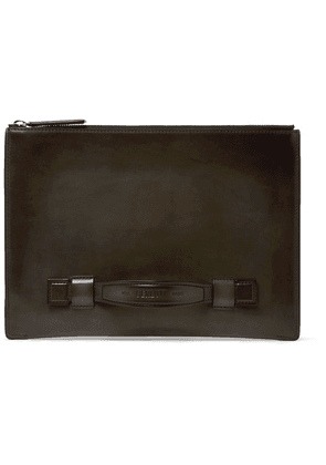 Berluti - Handle Leather Pouch - Brown