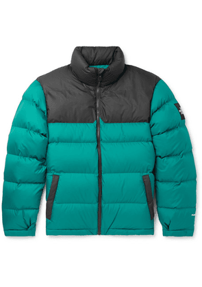 The North Face - 1992 Nuptse Quilted Shell Down Jacket - Turquoise