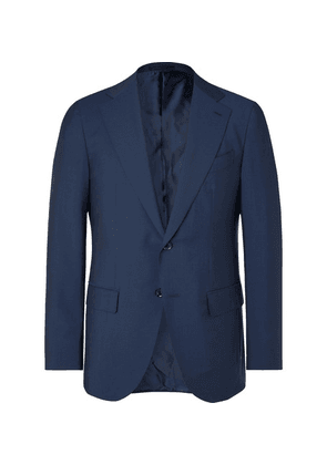 Caruso - Navy Aida Slim-fit Wool And Mohair-blend Suit Jacket - Navy