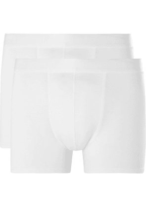 CDLP - Three-pack Stretch-lyocell Jersey Boxer Briefs - White