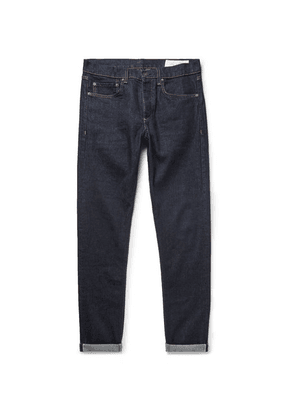 rag & bone - Fit 1 Skinny-fit Selvedge Stretch-denim Jeans - Dark denim
